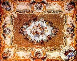 Каменная мозаика в доме