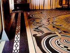 Мозаика в доме
