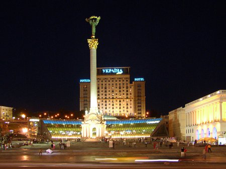 Реконструкция Майдана в Киеве