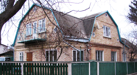 Продам в Боярке дом кирпичный на два входа