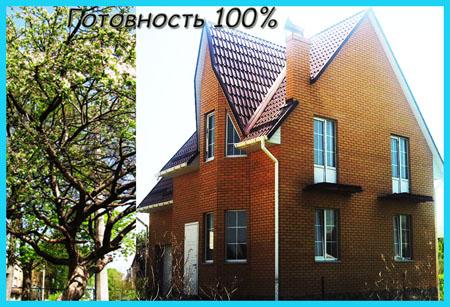 Продам новый кирпичный дом в Тарасовке. Готовность 100%