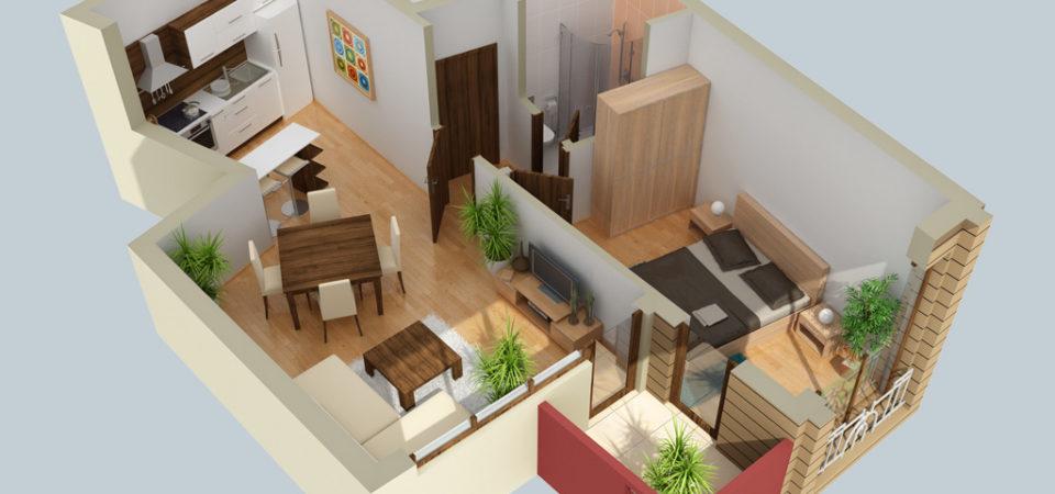 Квартиры со свободной планировкой, что нужно знать?